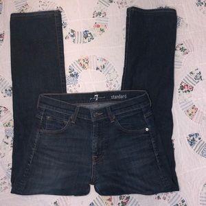 7 For All Mankind Standard Worn Jeans Sz.29X29